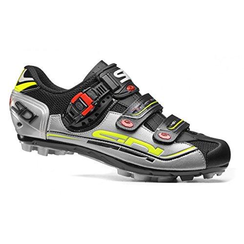 Zapatos Negro 7 Btt Mate Eagle Sidi Plateado axdFqF