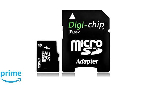Digi Chip 128 GB tarjeta de memoria Micro-SD UHS-1 para ...