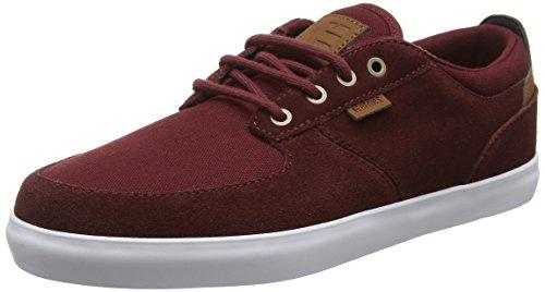 Etnies Hitch, Zapatillas de Skateboarding para Hombre Red (Burgundy602)