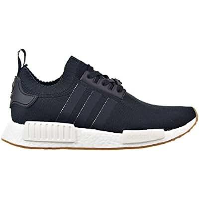 Adidas NMD_R1 Primeknit Gum Pack Men's Shoes Black/Gum/Running White by1887