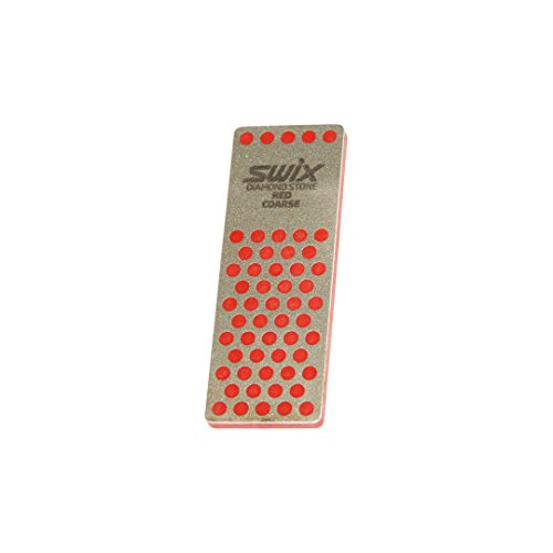 Swix TDM Diamond File: Red 200 grit, 70 mm Length