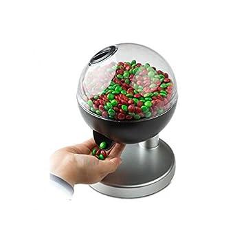 Silvano Dispensador de Golosinas Caramelos chicles Pastillas con Boton automatico: Amazon.es: Hogar