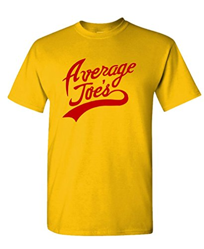 Average JOES - Funny Movie Party Halloween Tee Shirt T-Shirt, XL, Gold -