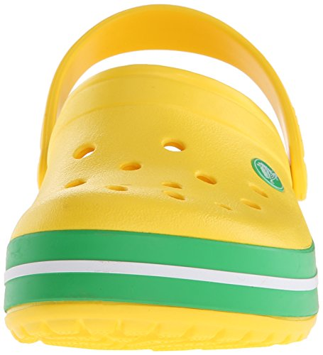 Jaune Mixte Green grass Adulte Crocband lemon Crocs Sabots p1xHSnS