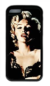 CSKFUSexy Lady Marilyn Monroe M040 iphone 6 5.5 plus iphone 6 5.5 plus Black Sides Rubber Shell Case by eeMuse