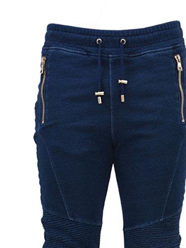 Balmain Homme S7H5022J002206 Bleu Coton Jeans