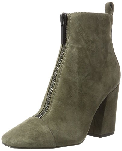 Kendall and Kylie Kkraquel, Stivali Donna Verde (Olive17 Fh Kid Suede+g113)