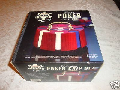 World Series Of Poker Premium Poker Chip Set by Excalibur