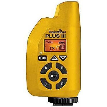(PocketWizard 801-131 Plus III Transceiver (Yellow))