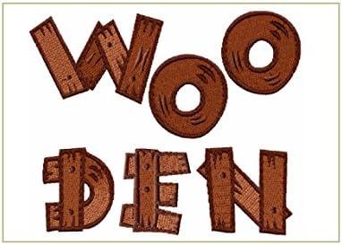 ABC máquina diseños de bordado – de madera alfabeto para máquina ...