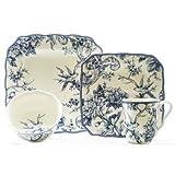 Adelaide Blue 16-piece Dinnerware Set Review
