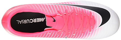 Nike Mercurial Victory VI AG-Pro, Chaussures de Football Entrainement Homme, Rose (Racer Pink/Black-White-White) 38.5 EU