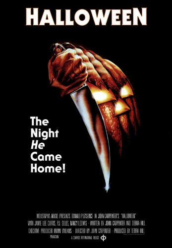 Halloween Movie Poster (27 x 40 Inches - 69cm x 102cm) (1978) Style D -(Jamie Lee Curtis)(Donald Pleasence)(Nancy Loomis)(P.J. Soles)(Charles Cyphers)(Kyle Richards) ()