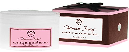 (Jaqua Beauty Body Butter Lotion | Buttercream Frosting Body Butter with Shea Butter)