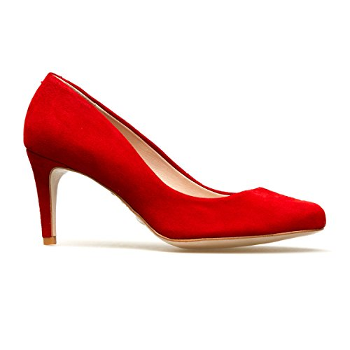 Ii Toe Holly Heels Van Women's Closed Albion Red Dal wXxqFEZ
