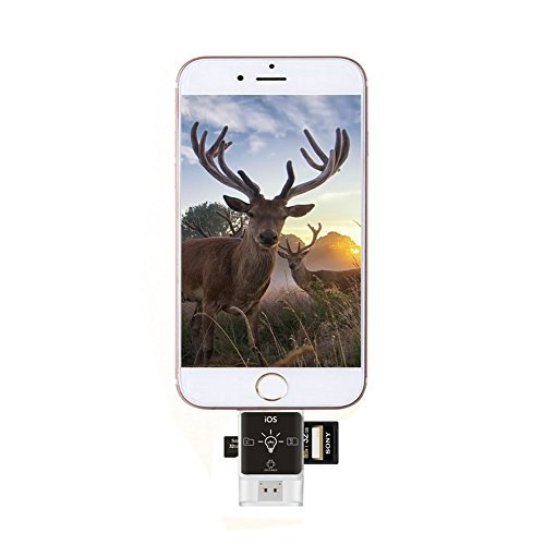 【海外 正規品】 IdeaViewer Trail and Devices [並行輸入品] Game Camera Gopro Reads Viewer and for Apple Devices & Android Devices & computer iPad iPod Reads SD SDHC and Micro SD Cards [並行輸入品] B07555P5LW, シムススタイル:ea7d6151 --- trainersnit-com.access.secure-ssl-servers.info