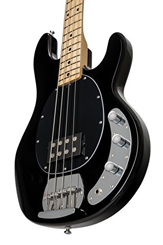 Sterling By MusicMan RAY4-BK-M1 4-String Bass Guitar, Black by Sterling by Music Man (Image #5)