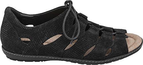 New Plover Women's Earth Sandal Black YwAq7d