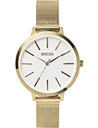 Women's 'Joule' 1731a Gold Stainless Steel Mesh Strap Watch, 37MM