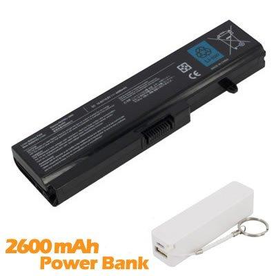 Battpit Bateria de repuesto para portátiles Toshiba Satellite T135-SP2909R (4400 mah) con 2600mAh Banco de energía/batería externa (blanco) para Smartphone: ...