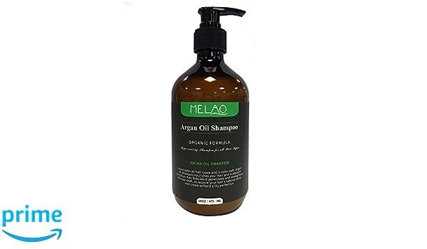 Champú de aceite de argán con fórmula reparadora para todo tipo de cabellos, argan-oil Champú, limpia hidratos y proporciona un cabello brillante, ...