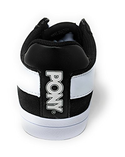 Pony Womens Top Star Lo Core CVS Sneaker Black/White 6 M mzMKAJ