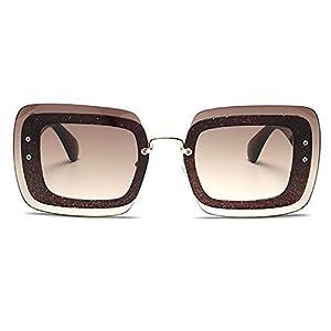 TIJN Chic Oversized Square Sunglasses Sunnie for Women