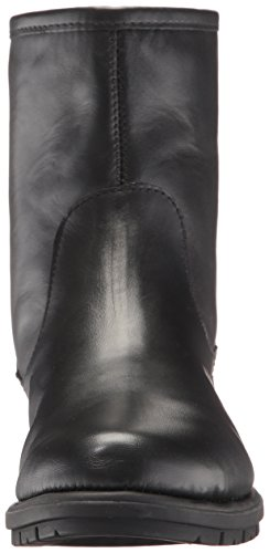 Aerosoles Women's Just Kidding Ankle Boot Black Leather OYz4jDsGg