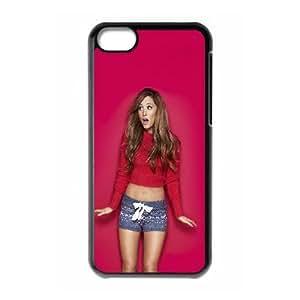 Ariana Grande iPhone 5c Cell Phone Case Black SUJ8526657