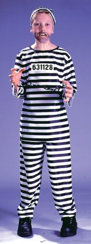 [JAILBIRD, CHILD, Medium] (Law Enforcement Child Costume)