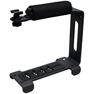 Opteka X-GRIP EX MK II Aluminum Video Action Stabilizing Handle for Digital SLR Cameras and Video Camcorders
