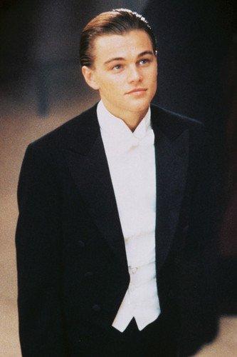 Leonardo Dicaprio In Tuxedo looking suave Titanic 24X36 Movie Poster