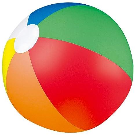 Ballon de plage et piscine/plage-arc-en-ciel-ø 25 cm: Amazon.es ...
