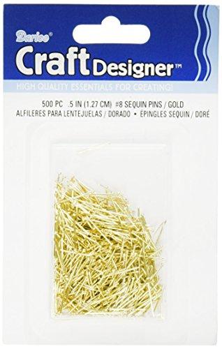 Darice Sequin Pins 500/Pkg-#8 - .5