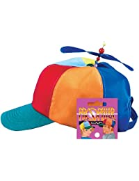 Loftus International Star Power Baseball Cap with Propeller Funny Party Hat, One Size Novelty Item