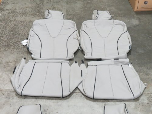 Toyota Venza '2009-'2015 (with black piping) Factory Leather Interior replacement Seat Cover Upholstery Kit
