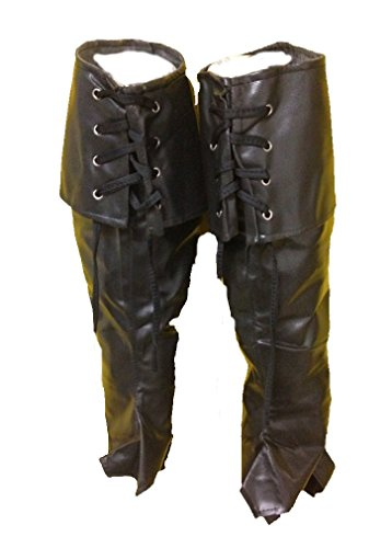 Cavalier Boots (United Mask & Party Deluxe Bootcovers With Tie-up Cuff For Pirate Medieval Musketeer Look (Individual))