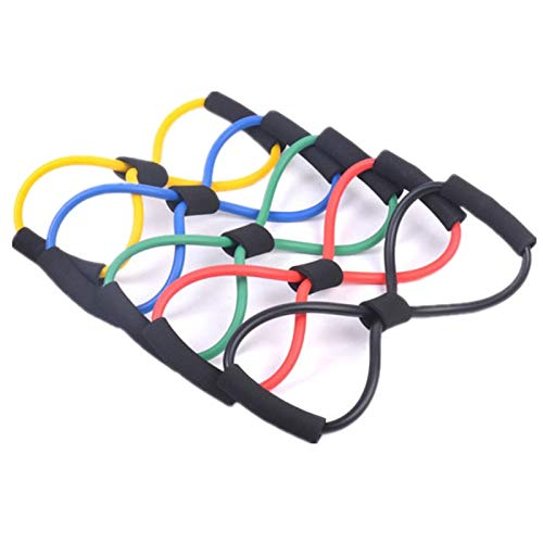 Amazon.com: Multi-Color 8 Shaped Chest Developer Elastic ...