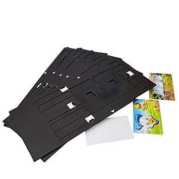 Epson impresora de inyección de tinta bandeja tarjeta de identificación bandeja para Epson R200, R230, R220, R230, R300, R306, R310, R320, R350