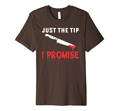 Mens Halloween Just The Tip I Promise Funny Tee Shirt GIFT 2XL (Funny Tips For Halloween)