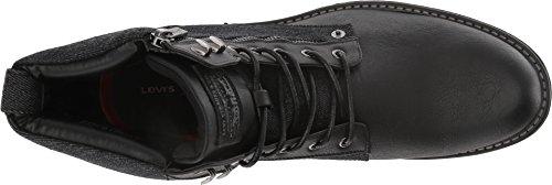 Denim Jacoby Levis Mens / Tumbled Ul Boot Avec Zip Latéral Noir Monochrome