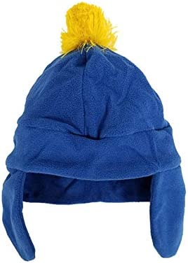 Stan Marsh Costume Hat South Park Blue Red Fleece Ski Cap TV Show Gift Cosplay