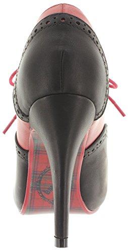 Banned - Zapatos de vestir de Material Sintético para mujer Rojo - Red-Black