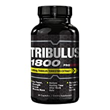 ProSeries Tribulus 1800 Testosterone Booster and Performance Enhancement Supplement - 90 Capsules