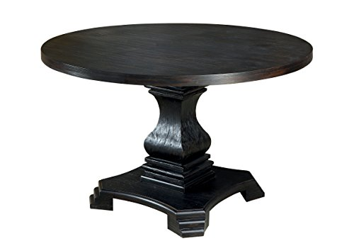 HOMES: Inside + Out IDF-3840RT Transitional Round Dining Table