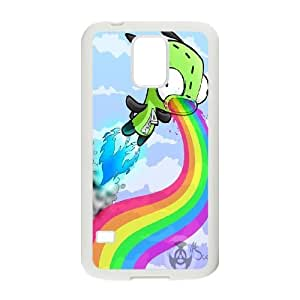 Invader Zim Gir Productive Back Phone Case For Samsung Galaxy S5 -Pattern-14