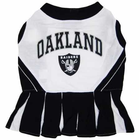 Oakland Raiders NFL Cheerleader Dress For Dogs -