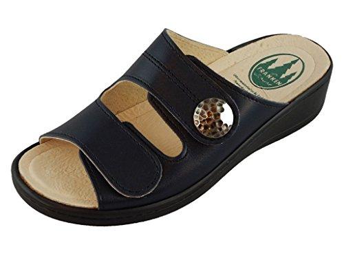 Franken-Schuhe Women's Sandal - Franksizka Marine EU SZ 38