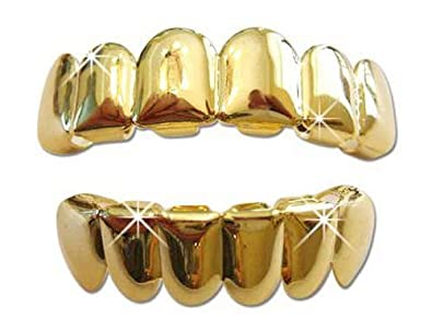 Image result for Beautiful Gold Plated Grillz For Hip Hop Look