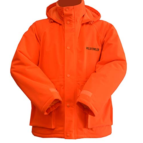 Wildfowler Waterproof Insulated Parka, Blaze Orange, 3X ()
